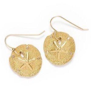 TORY BURCH • Marisol Sand Dollar Earrings